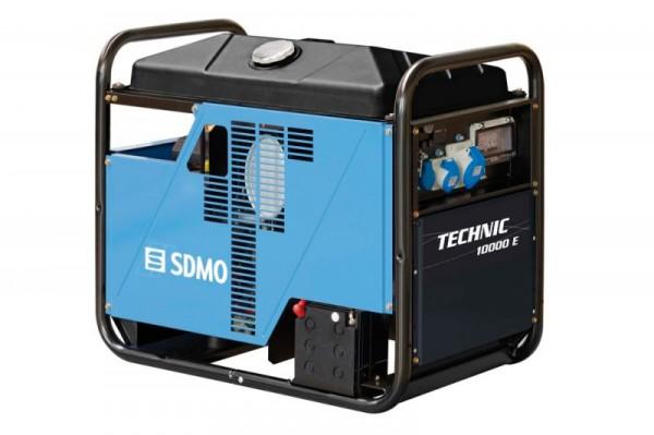 Бензиновый генератор SDMO, SDMO TECHNIC 10000 E, KOHLER-SDMO TECHNIC 10000 E