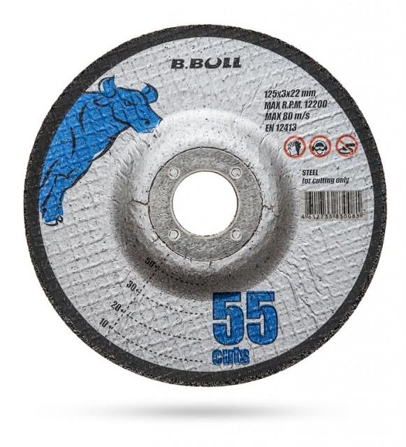 B.Bull 55 cuts 180х3х22 (выпуклый)