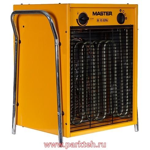 Электрический тепловентилятор MASTER B 15 EPB