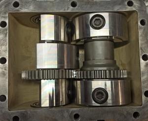 Ремонт эксцентрикового механизма DPU 6555/5545/5045/4545